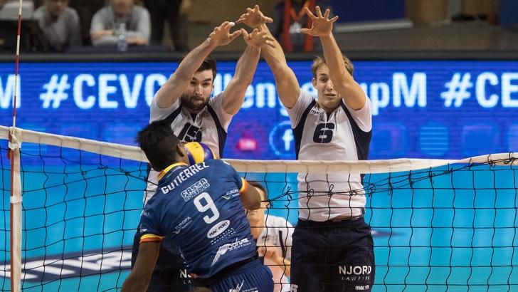 Volley: Challenge Cup, la Bunge mercoledì in campo per i quarti di finale