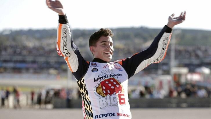 MotoGp Honda, Marquez: «Finalmente la prima gara è arrivata»