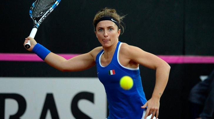 Tennis, Fed Cup: l'Italia pesca il Belgio nei sorteggi