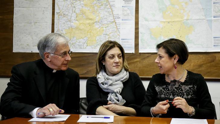 Firmato accordo recupero Basilica Norcia