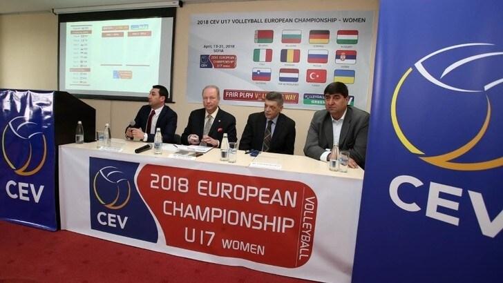 Volley: effettuati i sorteggi dell' Europeo Under 17 Femminile