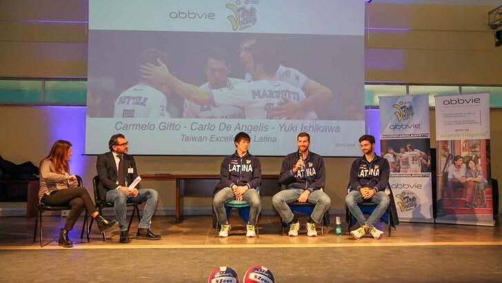 Volley: Superlega, Latina all'istituto Majorana per #Accendiamoilrispetto