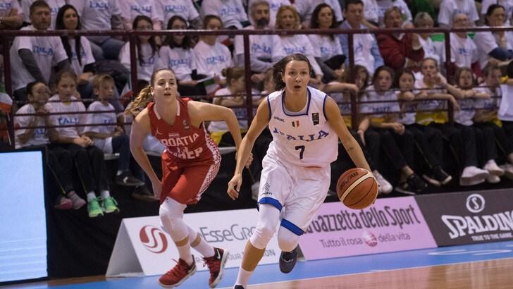Basket Femminile, domani si gioca Italia-Macedonia
