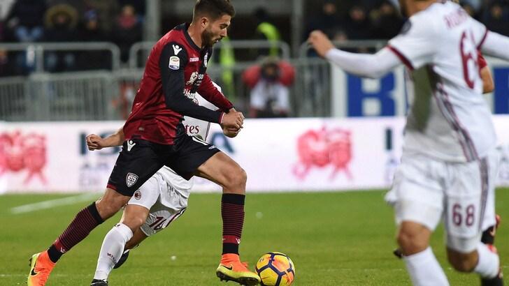 Serie A Cagliari, allenamento a parte per Faragò