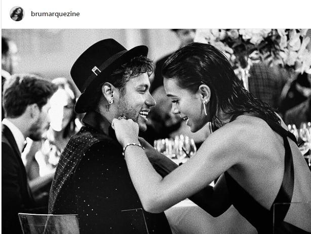 Neymar e la sua fidanzata