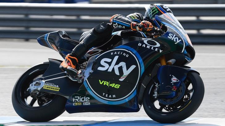 Moto 2, Sky Racing Team VR46: sorrisi da Jerez