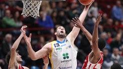 Basket Serie A, Delas lascia l'Orlandina