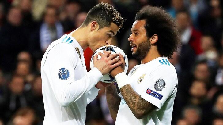 Champions League, Real Madrid-Psg 3-1: Cristiano Ronaldo show, Zidane vede i quarti