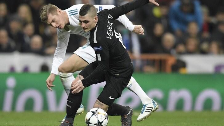Psg ko a Madrid, Verratti: «Possiamo ribaltare il pronostico»