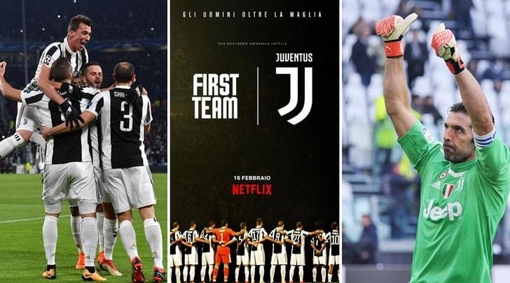 La Juventus sbarca su Netflix: guarda l'anteprima