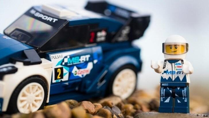 Lego celebra la vittoria Ford Fiesta al Mondiale Rally