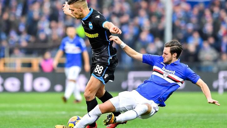 Serie A Sampdoria, per Sala infiammazione alla caviglia