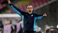 Napoli, Sarri: «Scudetto deciso all'ultima giornata? Speriamo»