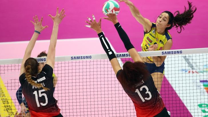 Volley: Coppa Italia Femminile, Conegliano è la prima finalista