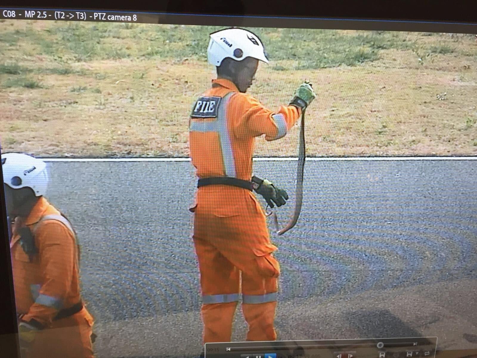 MotoGp, serpente in pista nell'ultimo giorno di test
