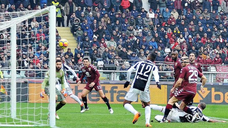 Torino-Juventus 0-1: il derby ai bianconeri, decide Alex Sandro
