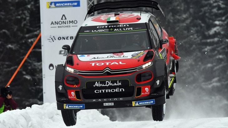 Rally di Svezia, trionfo di Thierry Neuville
