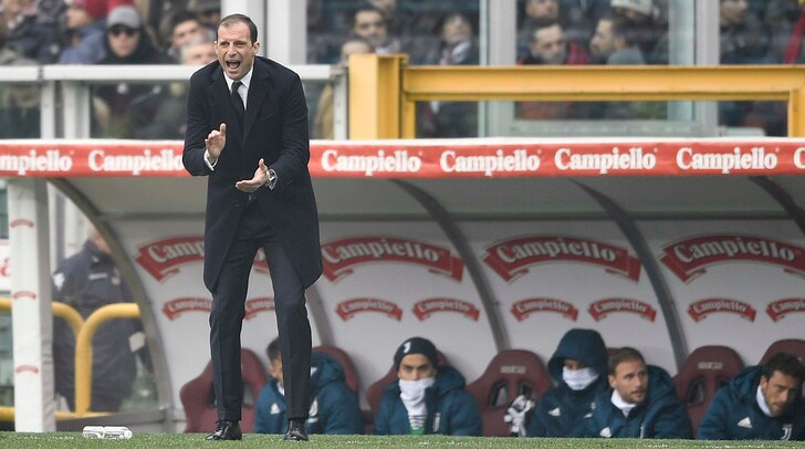 Orgoglio Allegri: «Fiero di allenare questa Juventus»