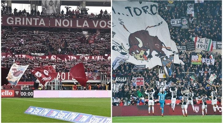 Torino-Juventus, la Digos ferma un raid ultrà in un bar del centro: arresti e denunce