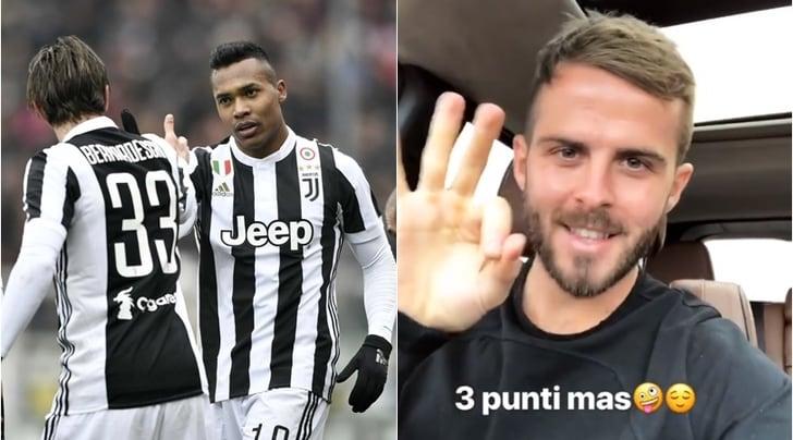 Juventus vince il derby, la squadra sul web: «Torino siamo noi!»