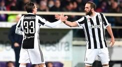 Juventus, ecco le condizioni di Higuain e Bernardeschi