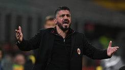 Milan, Gattuso: «Io solo cuore e grinta? Sono chiacchiere da bar»