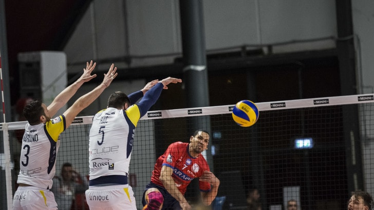Volley: A2 Maschile, Pool A, Roma rischia ma vince, Tuscania supera Siena