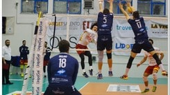 Volley: A2 Maschile, Pool C, Massa che colpo a Taviano !