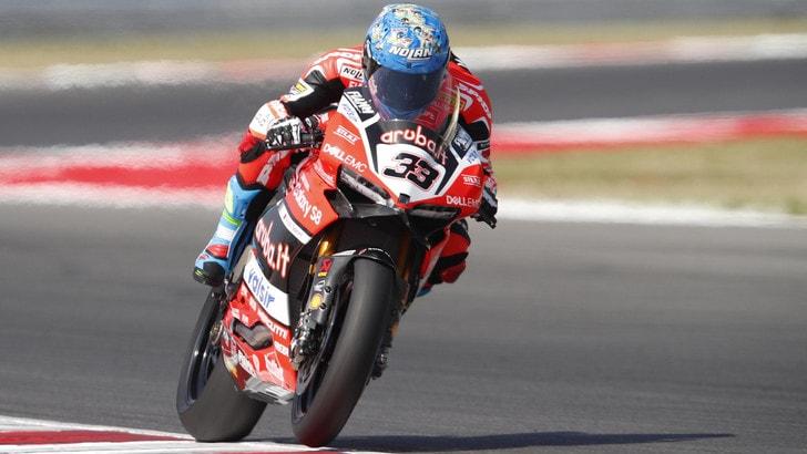 Superbike, la Ducati testa elettronica e ciclistica a Brno