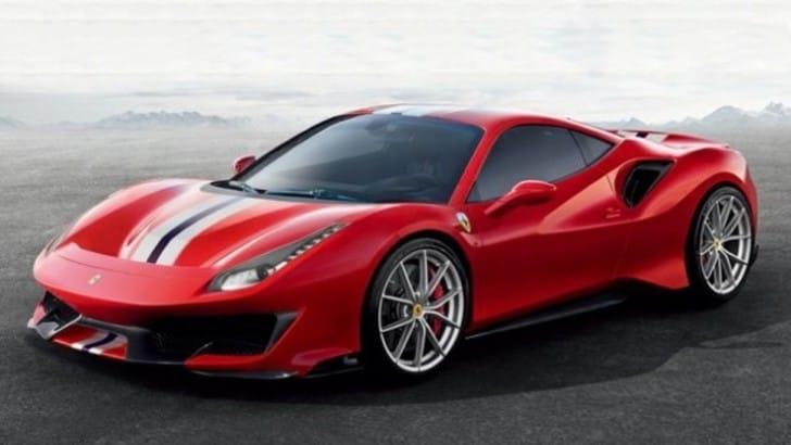 Ferrari 488 Pista, la speciale sfugge in rete