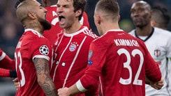 Champions League, tutto facile Bayern