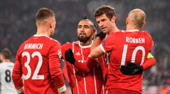 Champions League, il Bayern Monaco travolge il Besiktas 5-0