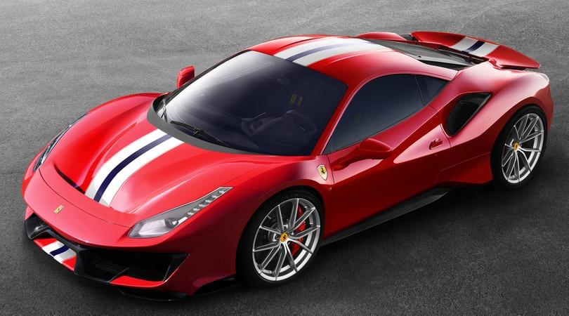 Ferrari 488 Pista: l'otto cilindri dalla potenza mai vista