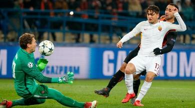 Champions League, Shakhtar-Roma 2-1: non bastano Ünder e Alisson