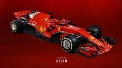 Ferrari, ecco la nuova F1 2018: è la SF71H di Vettel e Raikkonen