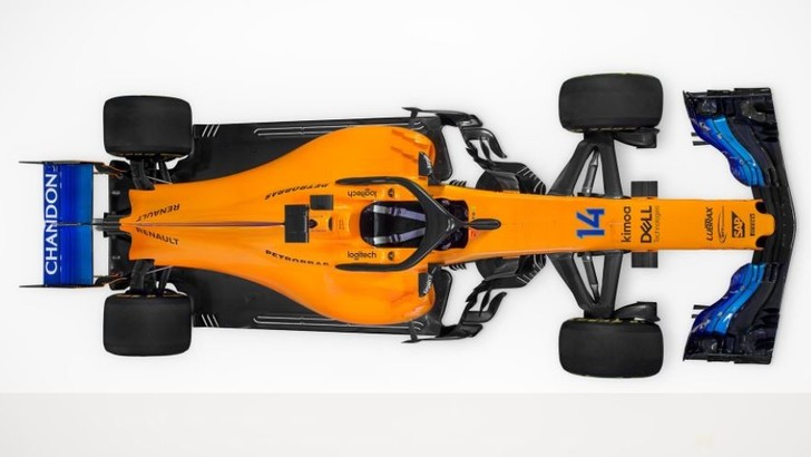 F1 McLaren, ecco la nuova MCL33 con il motore Renault