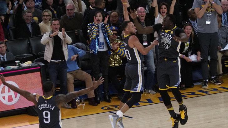 Curry esalta Golden State, LeBron sbanca Toronto