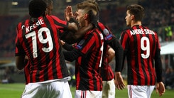 Europa League, a 2,15 i quarti per il Milan