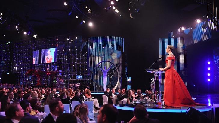 Laureus World Sports Awards - la copertura radio e TV