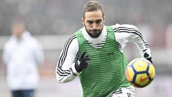 Juventus: Higuain ancora a parte, niente Atalanta