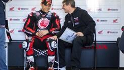 MotoGp Honda, Cecchinello: «Nakagami mi ha meravigliato»