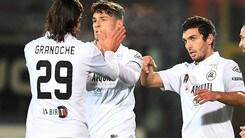 Serie B Spezia-Salernitana 3-0. In rete Pessina, Marilungo e Granoche