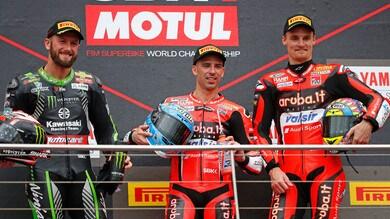 Superbike Australia, Melandri: «Corso in condizioni difficili»