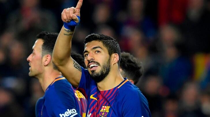 Liga: poker Real Madrid, il Barcellona ne fa 6