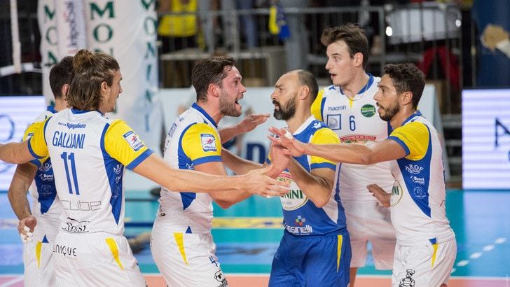 Volley: A2 Maschile, Pool A, Spoleto supera Grottazzolina al tie break