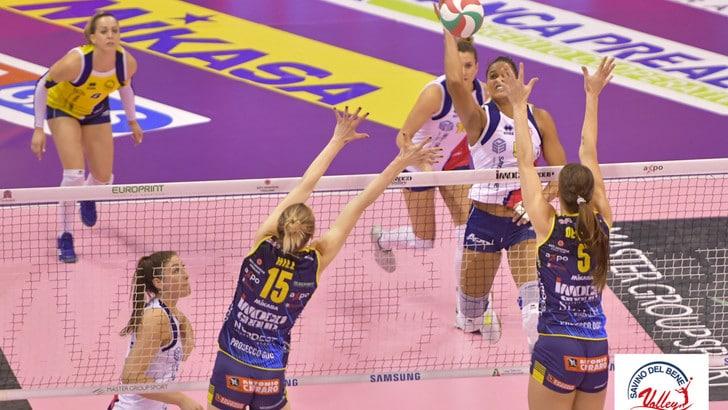Volley: A1 Femminile, Scandicci fa il colpo al PalaVerde