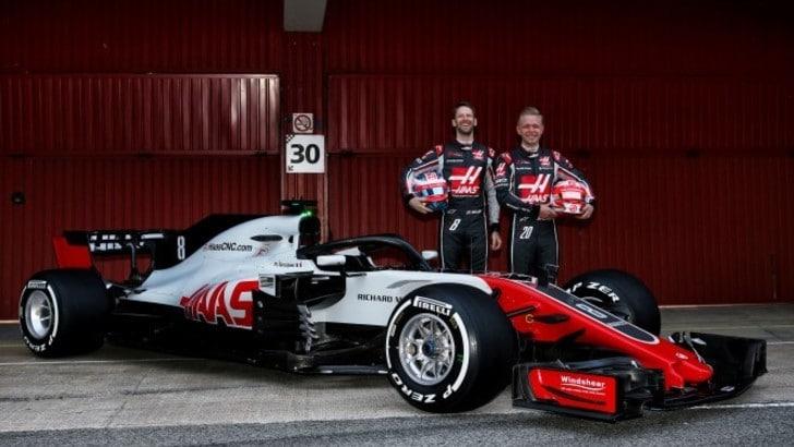 F1, via i veli per la nuova Haas