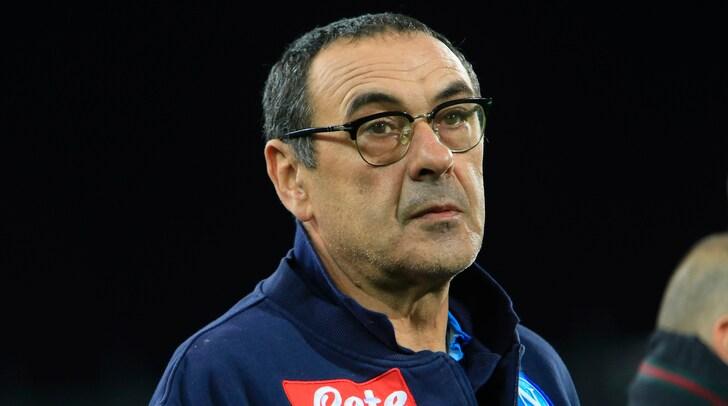 Napoli, Sarri: «Ai giocatori ho detto: 'Vinciamone 11 e pareggiamone una'»
