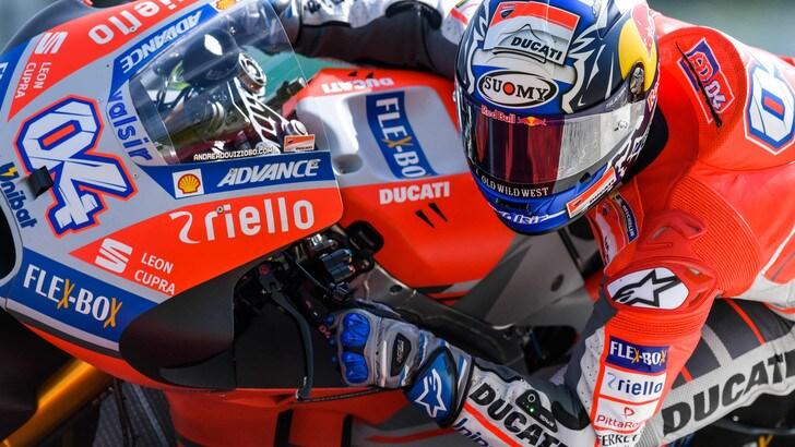 MotoGp Ducati, Dovizioso: «Sfida tra me e Marquez? Mi piacerebbe»