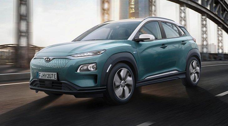 Hyundai Kona Electric, doppia propulsione per il Suv compatto green
